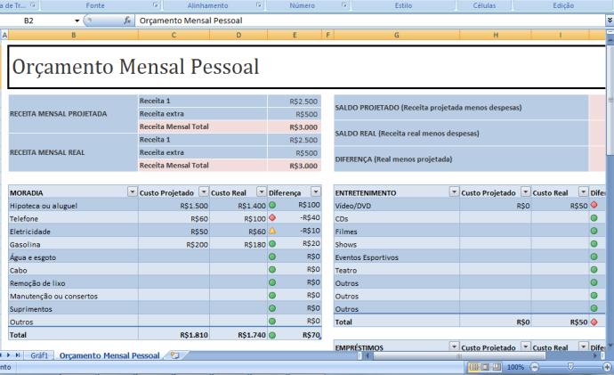 Downloads – Planilha do Excel para fazer seu controle de contabilidade Pessoal 2014