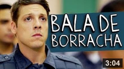 Bala de boracha